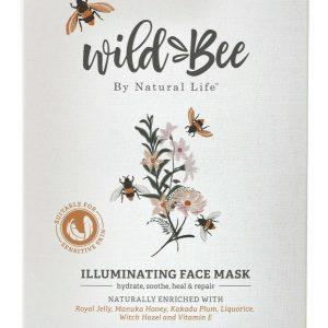 WILD BEE ILLUMINATING FACE MASK