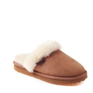 ladies slipper - brown