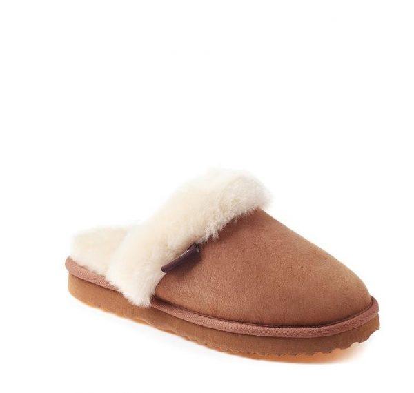 ladies slipper - brown