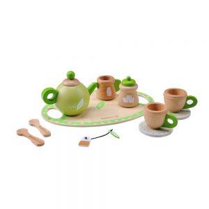 Everearth-Wooden-Tea-Set