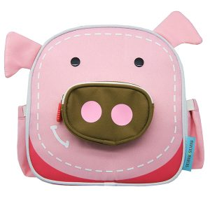 Insulated lunch bag pig