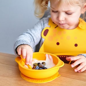 self-feeding-suction bowl