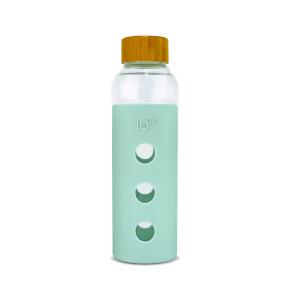 ioco bamboo cap water bottle