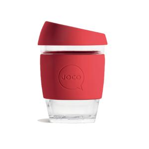 joco red water bottle