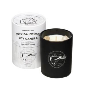 Infused soy candle
